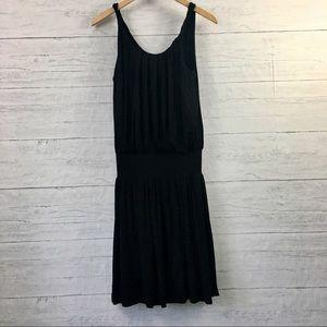 2/$25 Daletta drop waist black dress